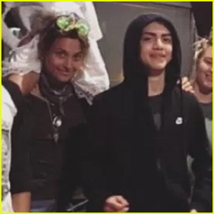 Paris Jackson Shares Rare Photo With Younger Brother Blanket