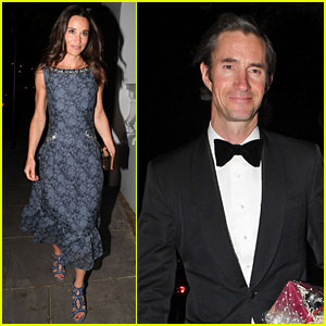 Pippa Middleton & James Matthew Look Classy at ParaSnowBall Ahead of Wedding