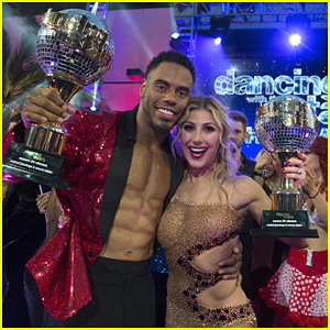 DWTS Winner Rashad Jennings Was In Disbelief Over Winning The Mirrored-Ball Trophy