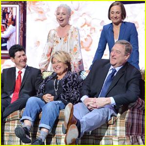 'Roseanne' Cast Reunites at ABC Upfronts Following Revival Announcement