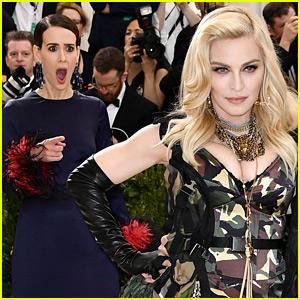Sarah Paulson Lost It When She Saw Madonna at Met Gala 2017!
