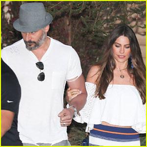 Sofia Vergara & Joe Manganiello Have a Date Night in Malibu!
