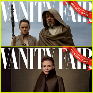 'Star Wars: The Last Jedi' Cast Pose in Character for Vanity Fair's 4 Covers!