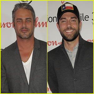 Taylor Kinney & Zachary Levi Get Charitable for Operation Smile Event