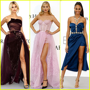 These Models Brought Amazing Fashion to amfAR Cannes Gala