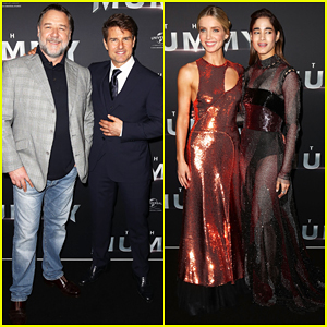 Tom Cruise & 'The Mummy Cast' Put On Their Best For Australian Premiere!