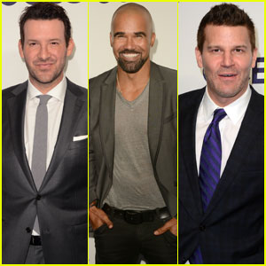 Tony Romo Steps Out For CBS Sports at NYC Upfronts 2017