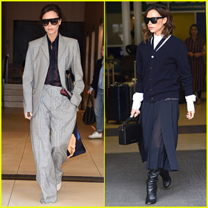 Victoria Beckham Shows Off Her Street Style Ahead of Breast Cancer Research Foundation Gala