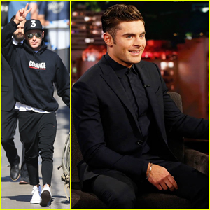 Zac Efron Talks Meeting Madonna On 'Jimmy Kimmel Live': 'She Tapped This'