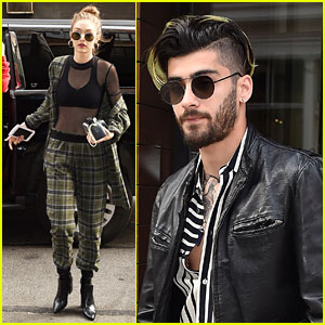 Zayn Malik Spends Time With Gigi Hadid After Her Work Meeting