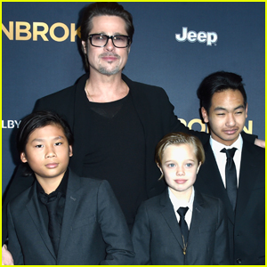 Brad Pitt Reportedly Spent Time With His Children For Father's Day!
