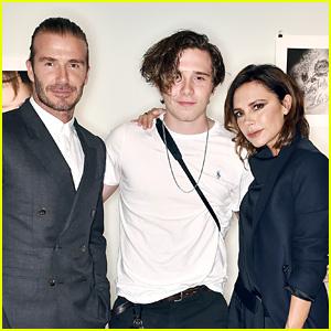 David & Victoria Beckham Support Brooklyn at His Book Launch!
