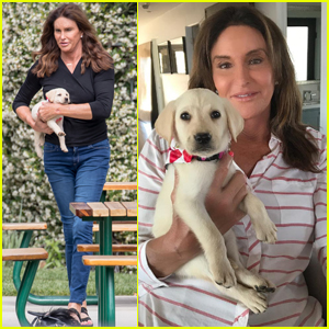 Caitlyn Jenner Has An Adorable New Puppy - Meet Bertha!