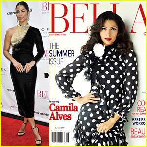 Camila Alves Celebrates Her Cover of Bella LA's New Issue!