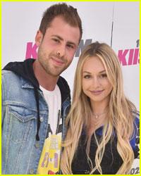 Corinne Olympios Stays Close to Boyfriend Jordan Gielchinsky
