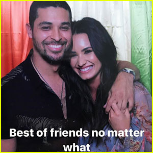 Demi Lovato & Ex Wilmer Valderrama Reunite for Sweet Photo