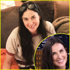 Demi Moore Is Missing Her Two Front Teeth (Photo)