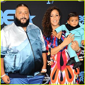 4dbbee903d8f29 DJ Khaled   Wife Nicole Tuck Celebrate Unveiling of Air Jordan 1 ...