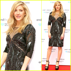 Ellie Goulding Shines at End the Silence Charity Event in London