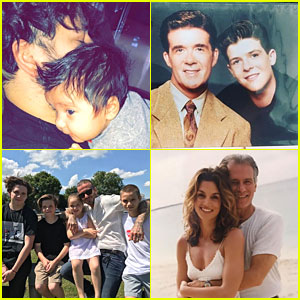 Happy Father's Day 2017 - Celeb Instagram Roundup!