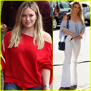 Hilary Duff Finishes Filming Season 4 of 'Younger'