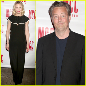 Jennifer Morrison & Matthew Perry Celebrate 'The End of Longing' Opening