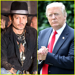 Johnny Depp Makes Controversial Donald Trump Remark (Video)