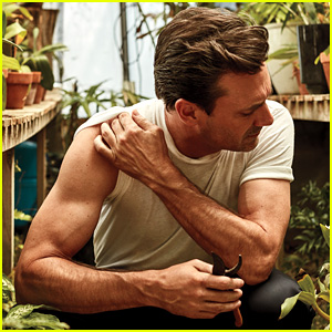 Jon Hamm Bares Biceps for 'InStyle,' Says it Sucks Being Single