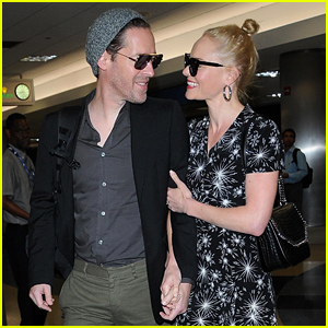 Kate Bosworth & Husband Michael Polish Are Smitten at LAX