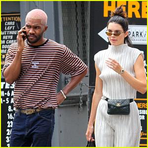 Kendall Jenner & Frank Ocean Grab Ice Cream in New York City