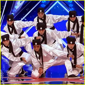 Korean Dance Crew's 'America's Got Talent' Audition is Amazing!
