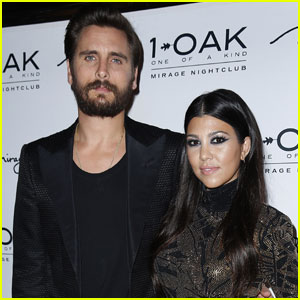 Kourtney Kardashian Isn't Losing Sleep Over Scott Disick