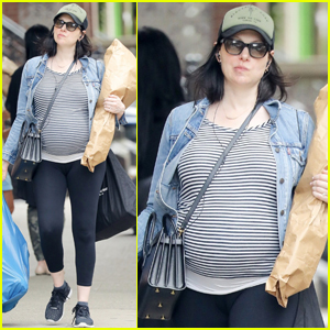 Laura Prepon Shows Off Her Baby Bump During Shopping Trip