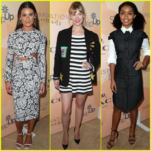 Lea Michele, January Jones & Yara Shahidi Get Inspiring!