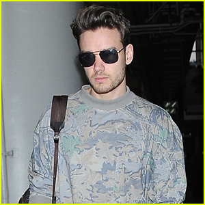 Liam Payne Keeps His Cool at LAX Airport