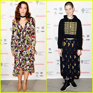 Maggie Gyllenhaal & Asia Kate Dillon Team Up for a Good Cause