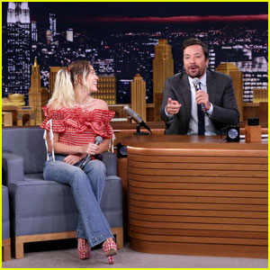 Miley Cyrus Belts Out 'Google Translate Songs' on Fallon (Video)