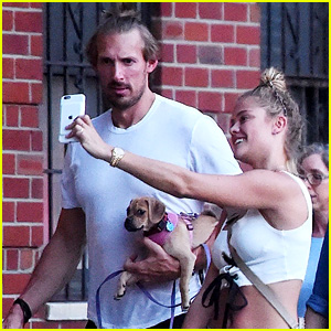 Nina Agdal Hangs with Mystery Guy After Split from Leo DiCaprio