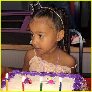 North West Celebrates 4th Birthday at Chuck E. Cheese's!