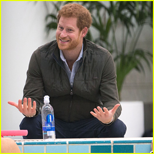 Prince Harry Meets With Invictus Games Hopefuls in Sydney