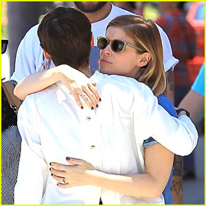 Rooney & Kate Mara Share a Hug While Spending Day Together