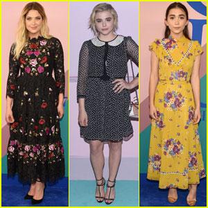 11192c4aab90 Chloe Moretz   Ashley Benson Join Rowan Blanchard at CFDA Fashion Awards  2017