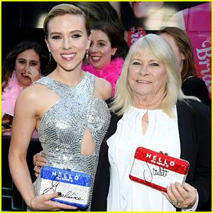 Scarlett Johansson Brings Lookalike Grandma to 'Rough Night' Premiere, As Promised!