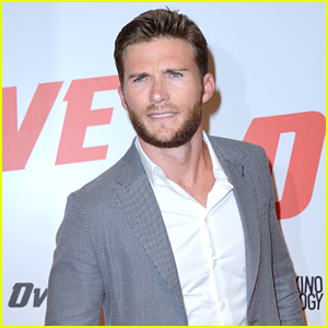 Scott Eastwood Premieres His New Movie 'Overdrive' in Paris