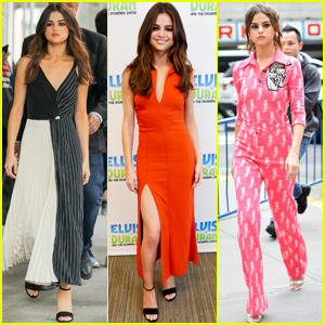Selena Gomez Rocks Six Chic Outfits in One Day - See Them All!