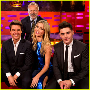 Tom Cruise & Zac Efron Bring the Laughs to 'Graham Norton'