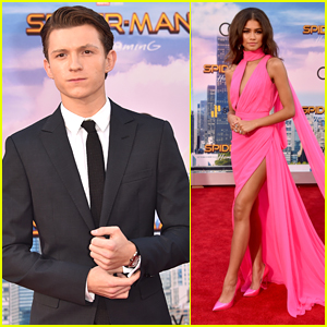 Tom Holland & Zendaya Premiere 'Spider-Man: Homecoming' in Hollywood