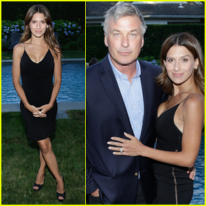 Alec Baldwin & Wife Hilaria Couple Up at Hamptons Film Festival