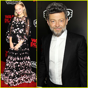 Andy Serkis & Amiah Miller Team Up for 'War for Planet of the Apes' NYC Screening