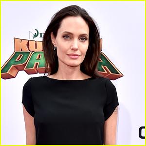 Angelina Jolie Celebrates Vivienne & Knox's 9th Birthday at Disneyland
